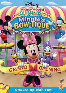 Mickey Mouse Clubhouse Minnies Bow tique DVD, 2010