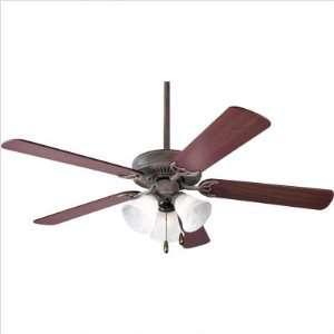 Bundle 47 52 AirPro Energy Star Builder Ceiling Fan in Cobblestone