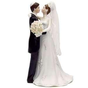 Jewish Wedding Cake Topper   Traditional Jewish Bride