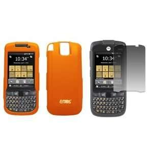 EMPIRE Orange Rubberized Hard Case Cover + Screen