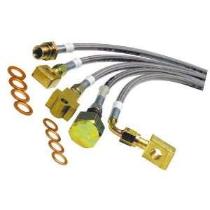 Skyjacker FBL54 Front Brake Line Stainless Steel