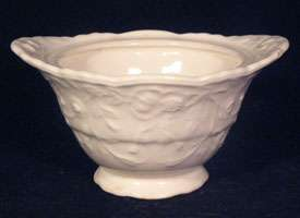 Steubenville Pottery ROSE POINT Sugar Bowl no Lid VTG