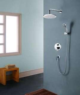 BATHROOM RAIN SHOWER FULL SET WITH VOLUME CONTROL