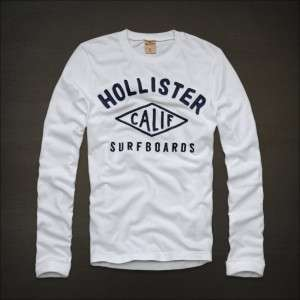 BY ABERCROMBIE MENS STONE STEPS BEACH LONG SLEEVE HCO LOGO MUSCLE FIT