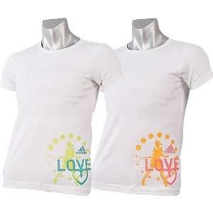 Adidas Girls Love T Shirt Summer 2007