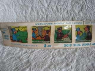 1961 Huckleberry Hound Yogi Kenner Give A Show Slide #1
