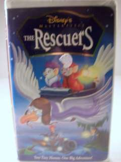 Disney Masterpiece The Rescuers VHS Tape 786936102666