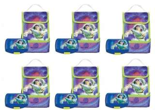 new BUZZ LIGHTYEAR LUNCH BOX party favors bags SUPPLIES