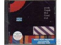 PINK FLOYD THE FINAL CUT SEALED CD NEW