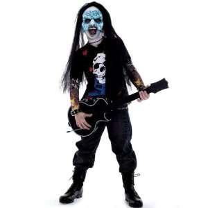 Zombie Icons Zombie Rocker Costume Child Small 4 6 Toys