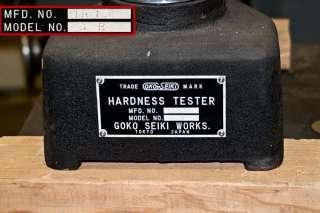 Benchtop Rockwell Hardness Tester Goko Seiki Works