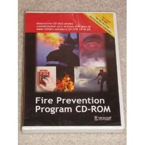 Fire Prevention Program CD ROM OSHA