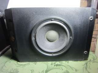 Bose 201 Series IV Direct Reflecting Black Speakers NICE 017817117104