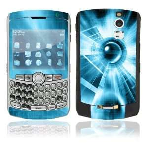 Abstract Blue Tech Decorative Skin Cover Decal Sticker for