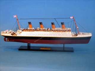 RMS Titanic 20 Model White Star Lines Cruise Ship