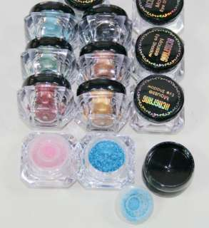 12 X Mineral High Quality Pigment Eyeshadow 12 Color