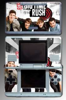Big Time Rush BTR Band Music SKIN #3 for Nintendo DS
