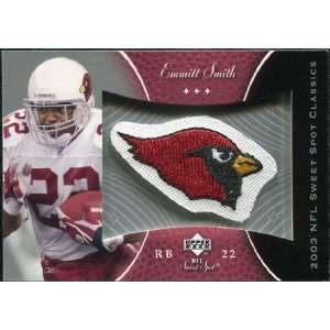 Deck Sweet Spot Classics Patch #PES Emmitt Smith Sports Collectibles