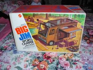 Big Jim Sports Camper w/Box Vintage Mattel 1972