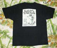 SUICIDAL TENDENCIES Vintage Promo SHIRT 80s/90s TOUR T RARE ORIGINAL