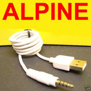 ALPINE KCU 440i USB TO  MP4 AUX INPUT CABLE