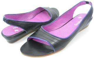 169 FARYL ROBIN BING Black Womens Shoes Sandal 7.5