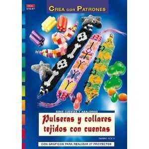Pulseras y Collares Tejidos con Cuentas (Crea con Patrones