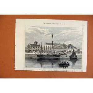 Boycotted Smack Wave Police Guard Corck C1881 Print: Home