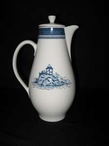 SYRACUSE OLD CATHAY TALL COFFEE POT