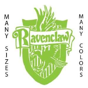 Tall   Ravenclaw   Lime Green   Harry Potter Custom Art Vinyl Decal