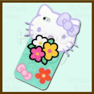 Sanrio HELLO KITTY Spring Blossom Semi soft Die cut Case Cover for