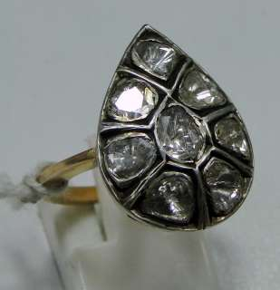 Victorian vintage antique 14 K solid gold Diamond Ring jewelry