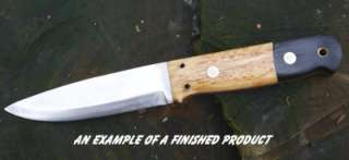 THE CLASSIC BUSHCRAFT KNIFE MAKING KIT   Make your Own