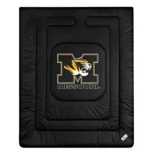 Missouri Tigers Locker Room Comforter   Full/Queen Bed