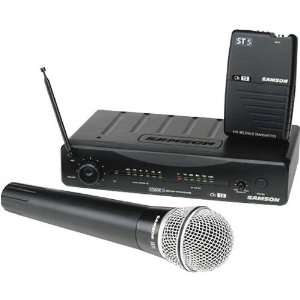 Samson Audio SW05SGT02 Stage 5 Wireless Microphone System