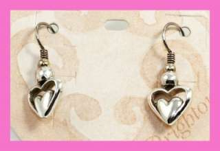 Brighton LOVE CONNECTION French Wire Earrings   NWT