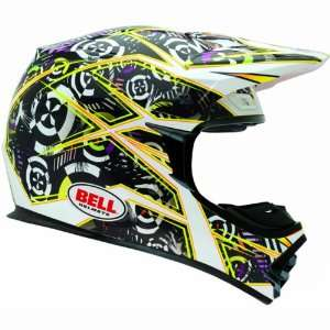 Mens MX 2 Dirt Bike Motorcycle Helmet   Yellow / Large Automotive