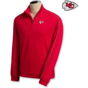 Cutter & Buck Kansas City Chiefs DryTec Half Zip Jacket Medium