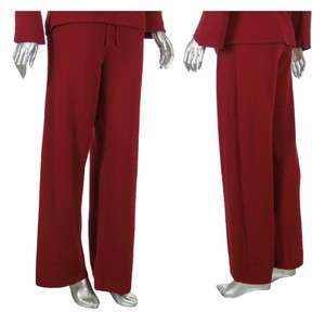 Sutton Studio Womens Cashmere Rib Drawstring Pants PL