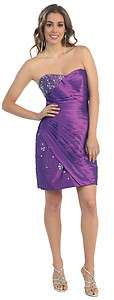 FORMAL DANCE PARTY PROM HOMECOMING COCKTAIL BRIDESMAIDS DRESS SHORT
