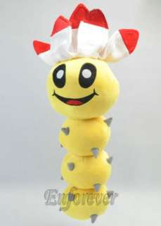 19 Super Mario Bros Pokey Caterpillar Plush Doll^MX168