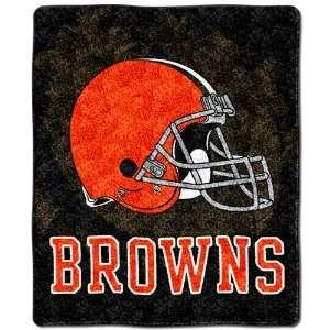 Cleveland Browns Super Soft Sherpa Blanket