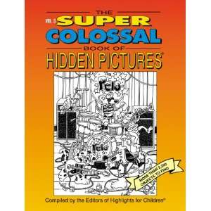 The Super Colossal Book of Hidden Pictures More Than