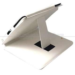 New White Leather Case Bag + Stylus Pen For Apple iPad
