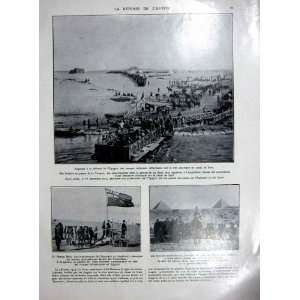 Egypt Defence Suez Canal War Military French Print 1927