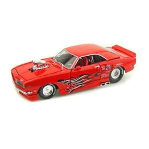 1968 Chevy Camaro SS Pro Street 1/24 Red Toys & Games