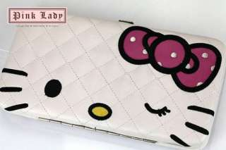 JW17 Cute Hello Kitty White Weekend Wallet Purse Bag