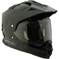 SPADA STING MOTORCYCLE CRASH HELMET MEDIUM MATT BLACK NEW