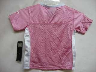 New Orleans Saints NFL Toddler EQP Pink Blank Jersey 2T