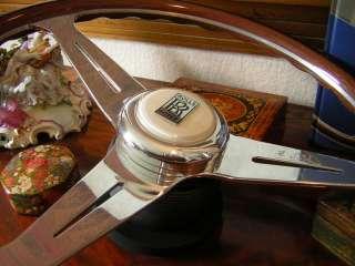 Rolls Royce Corniche Silver Shadow Spirit Spur Wood Steering Wheel